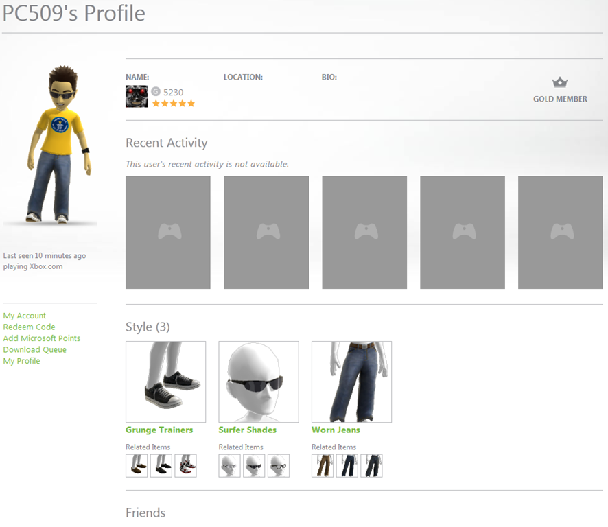 How to see what your friends Xbox Live avatar is wearing – MSTechpages